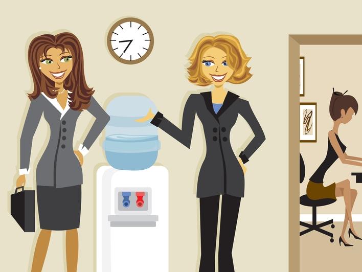 ליד מתקן המים במשרד: עשה ואל תעשה